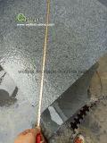 Темный серый гранит G654 пылал плитка и шаги с водоразделами