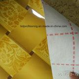 plancher non-tissé de PVC de la largeur Sponge+ de 3.3m