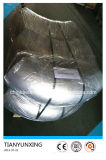 Bw cotovelo sem emenda de 90 encaixes de tubulação do aço inoxidável 304 do grau