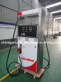 Distribuidor do combustível da bomba do posto de gasolina