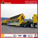 3 de Aanhangwagen van de Kipper van de Stortplaats van het Type van Diesel van de as