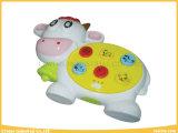 Jouets musicaux électroniques de bétail pour le bébé