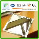 Alta calidad que viste el vidrio claro de /Float de la hoja del espejo