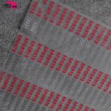 A transferência térmica da roupa etiqueta Adhisive quente em vestuários