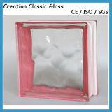 Het blok-Glas van het glas Baksteen voor Muur
