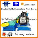 Galvanisierte rostfreie Rinne-Stahlrolle, die Maschine bildet