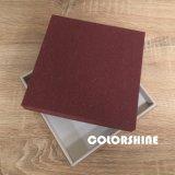 Chocolat rouge attrayant en bois comme la boîte-cadeau de papier d'emballage