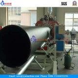 Pipe de spirale de mur de cavité d'évacuation de HDPE de grand diamètre faisant la machine/chaîne de production