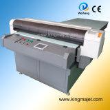 Mj1325 4-Color Digital Flatbed Printer para Leather/PU/Tshirt/Wood/Metal