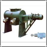 Eje de la máquina sola Arado mezclador de carbón activado en polvo