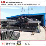 Tubo de acero cuadrado En10219 para el marco estructural