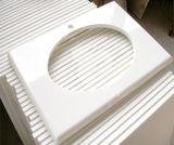 Белый выкристаллизовыванный стеклянный камень панели/белых стеклянный