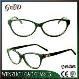 Het In het groot Frame van uitstekende kwaliteit van het Schouwspel van het Oogglas van Eyewear van de Acetaat Optische Cc1713