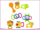 아기는 아기 (8PCS)를 위한 판다 플라스틱 장난감에서 덜걱덜걱 소리난다