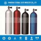 Mergulho autónomo Equipment Aluminum e Seamless Steel Oxygen Cylinder para Diving