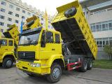 LHD/Rhd를 가진 HOWO 6X4 336HP 10 바퀴 덤프 팁 주는 사람 트럭