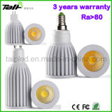 2013 nieuwe Design 5W GU10 COB LED Spotlight