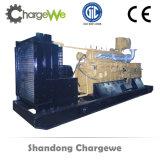 Conjunto de generador del motor de gas de las aguas residuales del gas del terraplén de 25kVA a 1500kVA