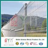 Precio de fábrica soldado /3D soldado Curvy de la cerca de los paneles de la cerca del acoplamiento de alambre
