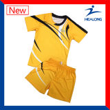 T-shirt uniforme do esporte do Badminton do Sublimation de Healong