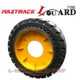 Pneu de solide de couleur de noir de qualité de Pneu Plein 21X8-9 23X9-10 de pneu solide
