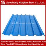 SGCC材料の屋根ふきの鉄の版によって波形を付けられる電流を通された鋼板