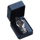 Cadre de mémoire en cuir de luxe d'étalage d'emballage de montre (Ys15)