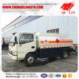 Algemene Afmeting 5995mm*2000mm*2500mm tankt De Vrachtwagen van de Olietanker voor Verkoop bij