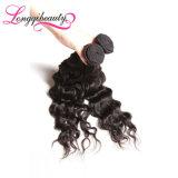 Cheveu ondulé normal brésilien de Vierge de Remy de première vente en gros de pente