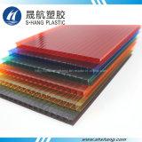 Várias cores do painel do plástico do policarbonato da Gêmeo-Parede de Bayer