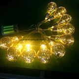 Decoratieve LEIDENE van de fee Bol met de Draad van het Koper binnen voor Festivallen