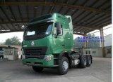 Cabeça do trator do caminhão de reboque de Cnhtc Sinotruck 420HP HOWO A7 6X4