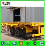 40 Feet Skeletal Chassis Truck Trailer Tri-Axles Container Semi-Trailer