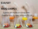 GlasBubblar Ölplattform-Wasser-Rohr mit preiswertem Großhandelspreis