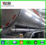 42000 litri di benzina dell'autocisterna di rimorchio semi, rimorchio di alluminio dell'autocisterna del combustibile del camion della petroliera da vendere
