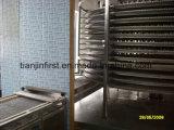 Maquinaria do congelador da espiral da eficiência elevada de congelação rápida
