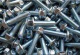 Flange Hex Bolts DIN6921 con Zinc Plated Carbon Steel