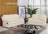Competitive Price Leather Sofa를 가진 백색 Color Promotion