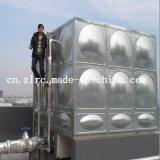 Réservoir d'eau du SUS 304 d'acier inoxydable de réservoir d'eau évalué élevé/acier inoxydable