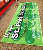 Сетка загородки конструкции дешевого цены свободно рекламируя знамя с печатание