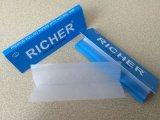 Sin blanquear puro cáñamo orgánico goma natural de papel de fumar