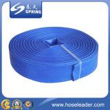Mangueira do PVC Layflat com cor azul
