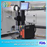 máquina da marcação do laser da fibra 20W com o laser de Ipg para a tubulação, o plástico, o PVC, o PE e o metalóide