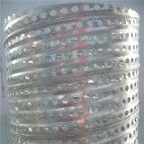 Tube filtrant rond/rectangulaire/de diamant trou/pipe perforés pour le pétrole et le traitement des eaux