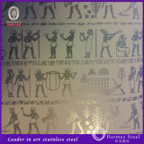 201 304 316 dekorativer Edelstahl-Platte UAE-Markt