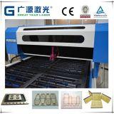 Maquinaria que corta con tintas del laser para el rectángulo de empaquetado