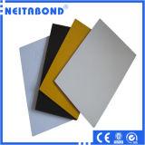 El panel plástico de aluminio PVDF 3m m 4m m para el panel de pared al aire libre