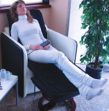 Plein rouleau-masseur électrique de corps de vibration et de chaleur