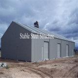 Полуфабрикат здание хранения структурно стали от изготовления
