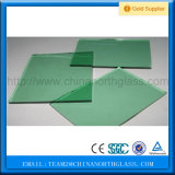 CCC/En12150/SGCC/Bsi/Csi 증명서 편평한 구부려진 8mm F 녹색 강화 유리 공장